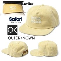 Safari10月号掲載!Outerknown★Water Logged コードハット-Straw