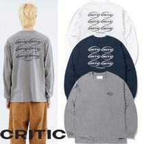 ★CRITIC★OVAL LOGO LONG SLEEVES 3色