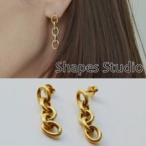 送料込 Shapes Studio☆CHAIN DANGLE  ピアス