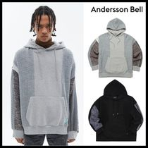 ☆ANDERSSON BELL☆ UNISEX FABRIC CONTRAST SEOUL HOODIE
