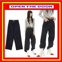 [OPEN THE DOOR] soft denim jeans /追跡付