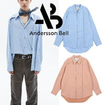 ★ANDERSSON BELL★HIDDEN PLACKET OVERSIZED SHIRTS atb433m