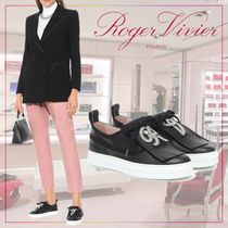 【Roger Vivier】 Call Me Vivier leather sneakers 495082