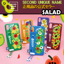 【NEW】「SECOND UNIQUE NAME」STRING Glossy Salad 正規品