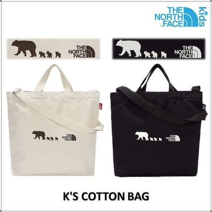 THE NORTH FACE 子供用トート・レッスンバッグ [ザノースフェイス]トートバッグK'S COTTON BAG★新作★