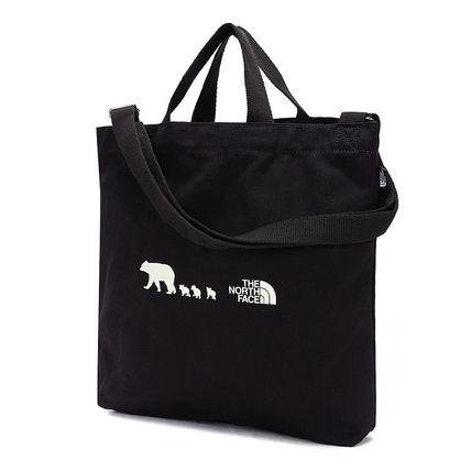 THE NORTH FACE 子供用トート・レッスンバッグ [ザノースフェイス]トートバッグK'S COTTON BAG★新作★(10)