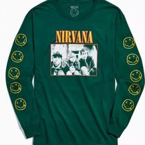 Urban Outfitters(アーバンアウトフィッターズ) Tシャツ・カットソー オフィシャル★Nirvana Dalmacia Hotel Long Sleeve Tee