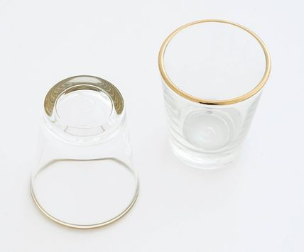 DECO VIEW コップ・グラス 関税込★DECO VIEW★Gold Line Small Cup(50ml)★2Pセット(14)
