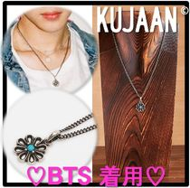 ★BTS ジミン 着用★KUJAAN★Heart flower ネックレス★人気