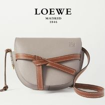 ∞∞ LOEWE ∞∞ Gate small textured-leather バッグ☆