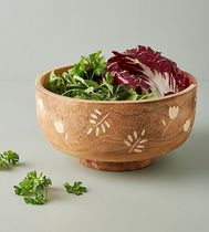 セール! Anthropologie ハンドメイド☆Rosemary Serving Bowl