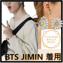 BTS ジミン 着用★VINTAGE HOLLYWOOD★MINI DAISY POST EARRING