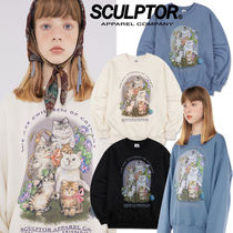 ★SCULPTOR★日本未入荷 韓国 大人気 Kitten Friends Sweatshirt