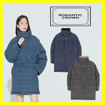 【ROMANTIC CROWN】CHESTERFIELD CHECK PARKA(2色)★安全発送