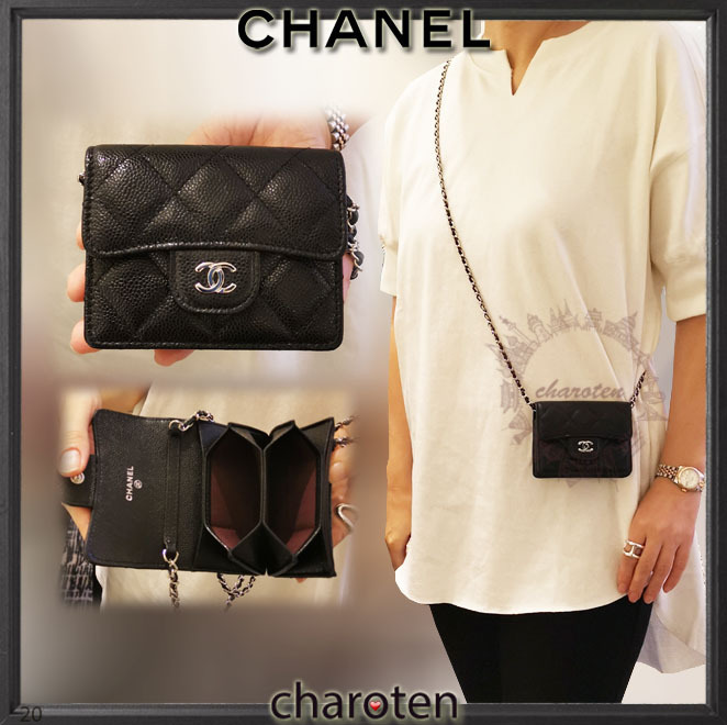 Shop Chanel Chain Wallet 2020 21fw Calfskin Chain Plain Leather Folding Wallet Small Wallet By Charoten Buyma Also set sale alerts and shop exclusive offers only on shopstyle. chanel chain wallet 2020 21fw calfskin chain plain leather folding wallet small wallet