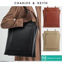 【Charles&Keith】トラペーズトート / Structured Trapeze Tote