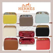 《HERMES》シルクイン Silk'In Compact wallet コンパクト