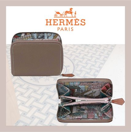 HERMES 折りたたみ財布 《HERMES》シルクイン Silk'In Compact wallet コンパクト(2)