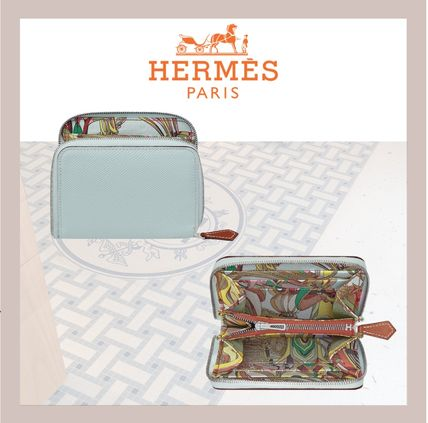 HERMES 折りたたみ財布 《HERMES》シルクイン Silk'In Compact wallet コンパクト(3)