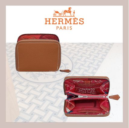 HERMES 折りたたみ財布 《HERMES》シルクイン Silk'In Compact wallet コンパクト(4)