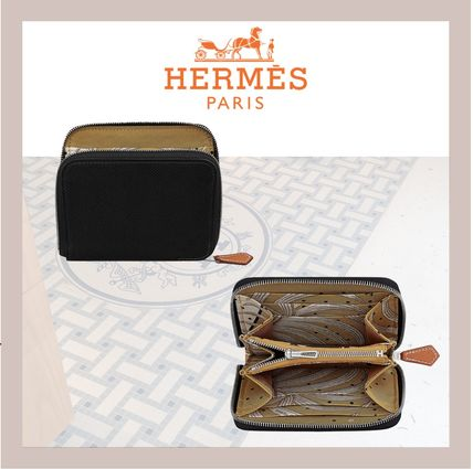 HERMES 折りたたみ財布 《HERMES》シルクイン Silk'In Compact wallet コンパクト(5)