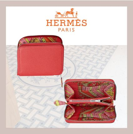 HERMES 折りたたみ財布 《HERMES》シルクイン Silk'In Compact wallet コンパクト(6)