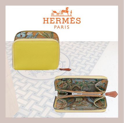 HERMES 折りたたみ財布 《HERMES》シルクイン Silk'In Compact wallet コンパクト(7)