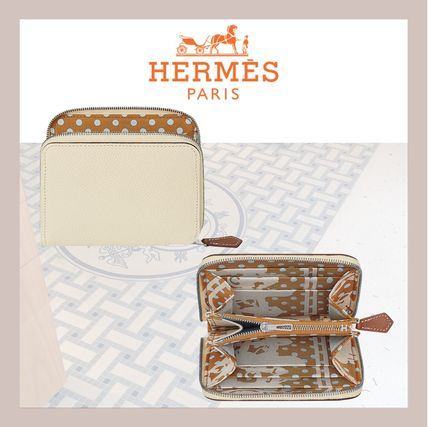 HERMES 折りたたみ財布 《HERMES》シルクイン Silk'In Compact wallet コンパクト(8)