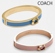 COACH◆Signature Push Hinged Bangle ブレスレット バングル