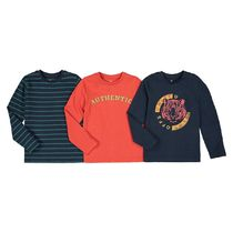 La Redoute★Pack of 3 T-Shirts with Long Sleeves 3-12歳