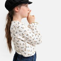 La Redoute★Organic Cotton T-Shirt in Floral Print 3-12歳