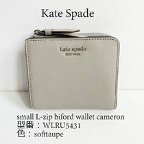 関税込+完売色Kate Spade★small L-zip biford wallet WLRU5431