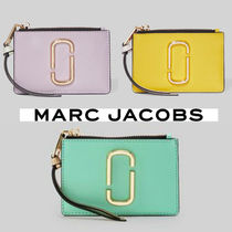 MARC JACOBS THE SNAPSHOT TOP-ZIP MULTI WALLETキーリング付き