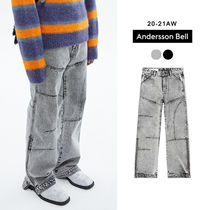 ANDERSSON BELL正規品★20AW★BLEACH WASHED ZIPPER JEANS