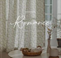 【DECO VIEW】Soft Greenery Lace Small Window Curtain