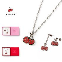 ◆KIRSH◆ROSEHA PENDANT NECKLACE AND EARRING SET