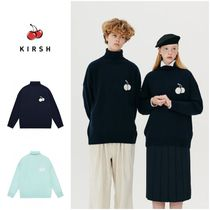 さらに100円引き◆KIRSH◆UNI MIDDLE CHERRY HIGHNECK KNIT
