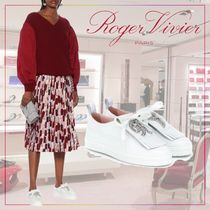 【Roger Vivier】 Call Me Vivier leather sneakers 495081