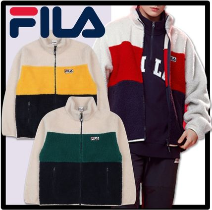 ☆BTS 着用☆送料・関税込★FILA★Palette boa fleece jacket★