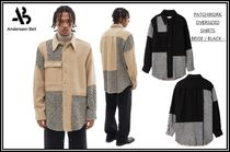 ★Andersson Bell★20F/W‐PATCHWORK OVERSIZED SHIRTS-2color