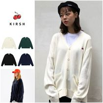 さらに100円引き◆KIRSH◆SMALL CHERRY V NECK KNIT CARDIGAN