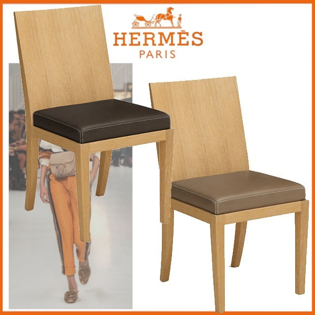 ☆Chaise rembourree Reeditions J.-M. Frank par Hermes (HERMES/椅子・チェア) 58341948