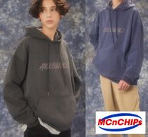 【mcnchips】VINTAGE PIGMENT HOODIE (navy/charcoal)
