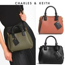 【Charles&Keith】2wayハンドバッグ/Top Handle Structured Bag