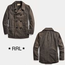 《RRL》Washed Canvas * ピーコート
