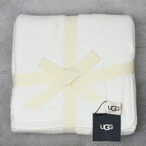 国内発送 UGG ブランケット DUFFIELD LARGE SPA THROW CREAM