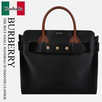 BURBERRY THE BELT SMALL HANDBAG IN SMOOTH LEATHER