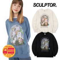 SCULPTOR Kitten Friends Sweatshirt BBH287 追跡付