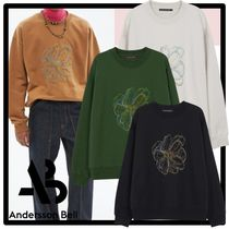 ANDERSSON BELL(アンダースンベル) スウェット・トレーナー ★関税込★ANDERSSONBELL★UNISEX FLEUR EMBROIDERY SWEATSHIRT