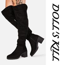 DOLL'S KILL★SUEDE BOOTS☆美しくスタイルアップできちゃう♪